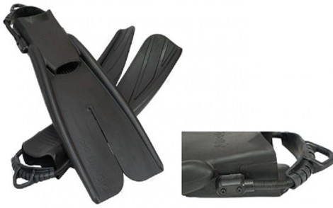 Apollo Bio Fins Pro XT Fins With BLACK Spring Straps