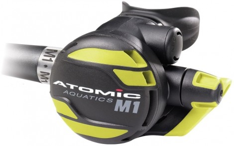 "Atomic Aquatics M1 Octo Yellow 36"" Octopus Regulator"