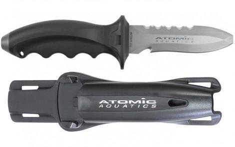 Atomic Aquatics Ti6 Titanium Tip Knife - Blunt