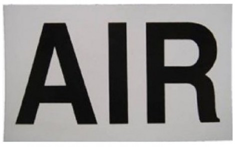 Faber AIR Sticker