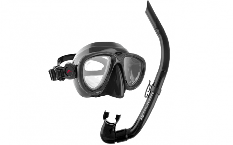 Ocean Hunter Chameleon Mask & Snorkel Set