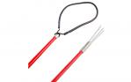 Ocean Hunter Fibreglass 1.5m 2Piece Hand Spear Red