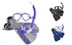 Ocean Pro Blade Mask, Snorkel & Fin Set