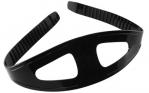Ocean Pro Silicone Mask Strap - BLACK
