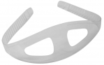 Ocean Pro Silicone Mask Strap - CLEAR