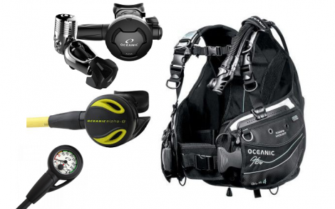 Oceanic Hera Womens Scuba Package