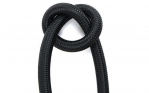 Ocean Pro LP Braided Reg Hose - 30 Inch Black