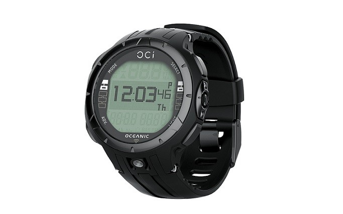 Oceanic oci watch only dive computer divein2scuba - Oceanic dive watch ...