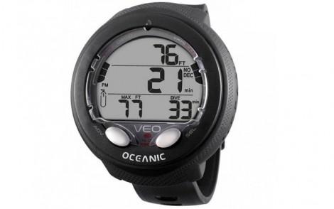 Oceanic Veo 4.0 Wrist Dive Computer - Black