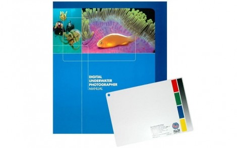 PADI Digital Underwater Photographer Manual w White Balance Slate