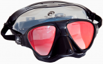 Rob Allen Cubera Mask BLACK w TINT LENS