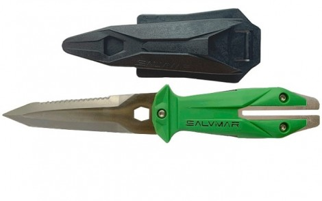 Salvimar Goemon Knife - ACID GREEN
