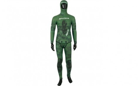 Salvimar Nebula Green 5 5mm Open Cell Wetsuit