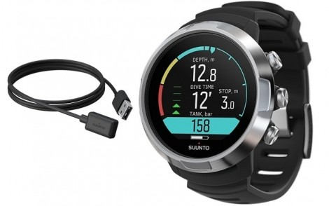 Suunto D5 Black w USB Cable