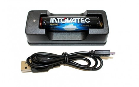 Tovatec Li-ion Battery Charger & 18650 Battery
