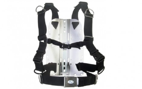 Zeagle Deluxe Harness w Stainless Steel Backplate