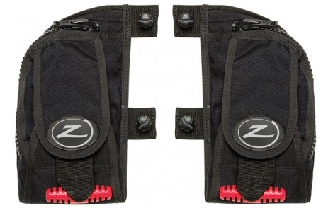 Zeagle Rear Weight System 9.08 kg / 20 lbs. Total - Pair